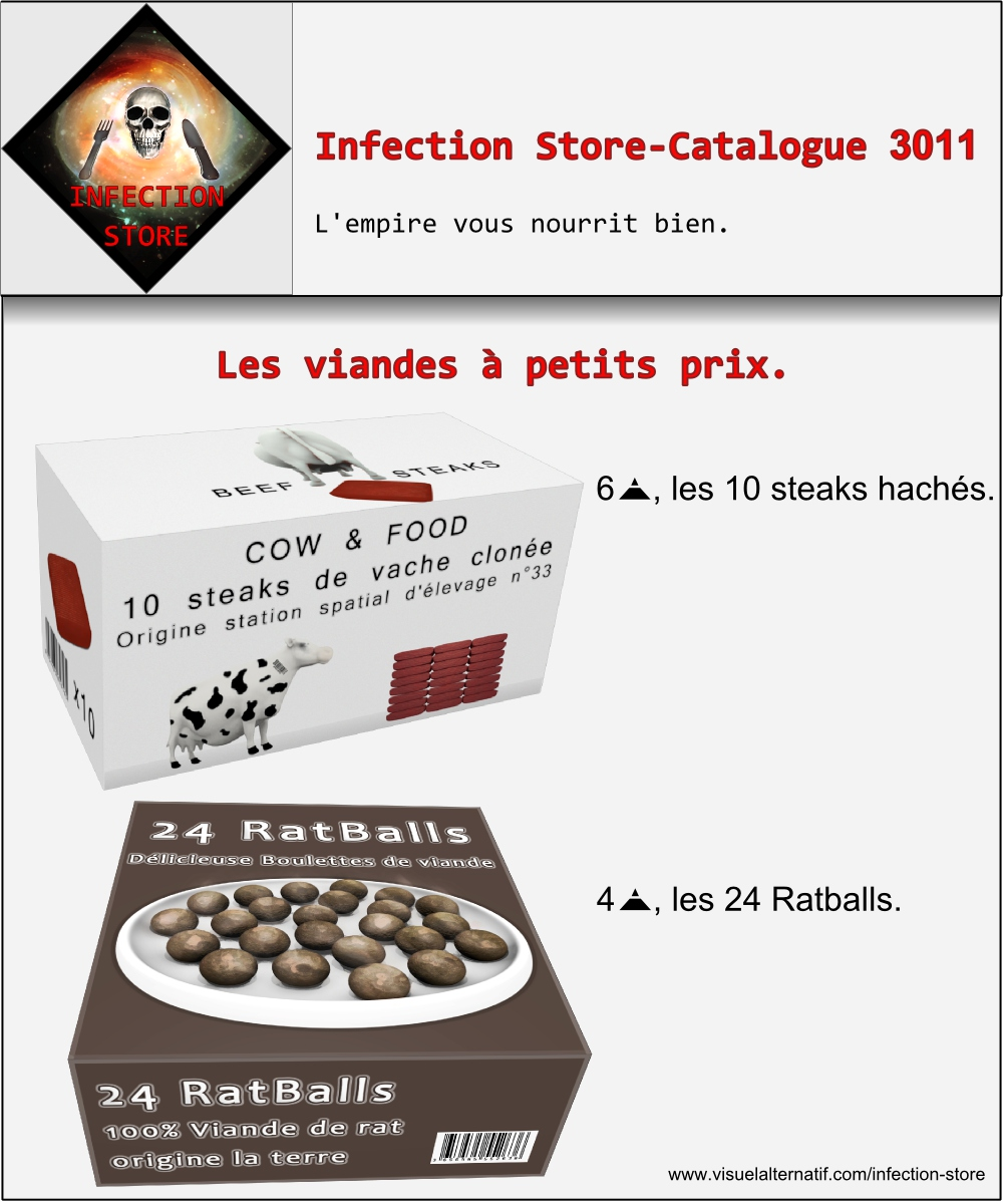 infection store viande